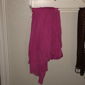 FOREVER 21 PINK SCARF!